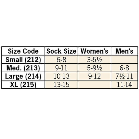 Healthy Steps™ Compression Socks 20-30 mmHg, 3 Pair - View 5