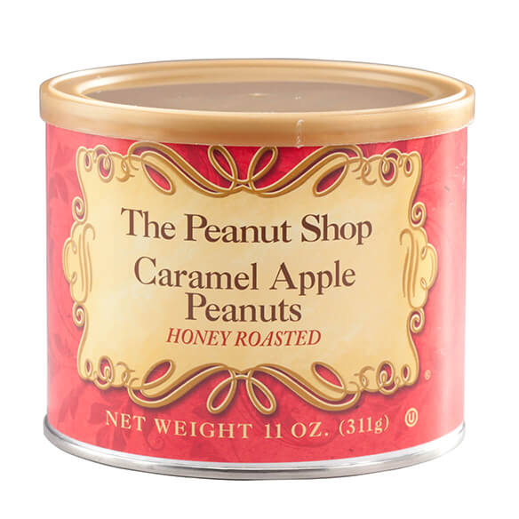 The Peanut Shop® Caramel Apple Honey Roasted Peanuts - View 2