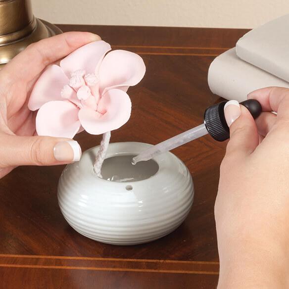Ceramic Flower Aromatherapy Diffuser Oil Diffuser