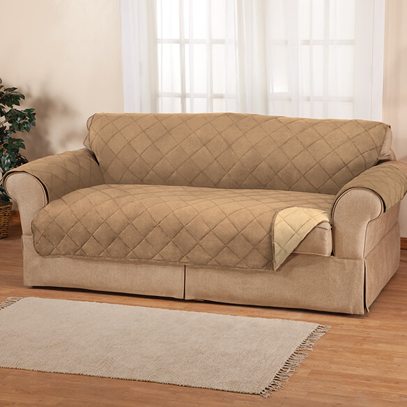 Naomi Suede-Microfiber Loveseat Cover by OakRidge™ - View 2