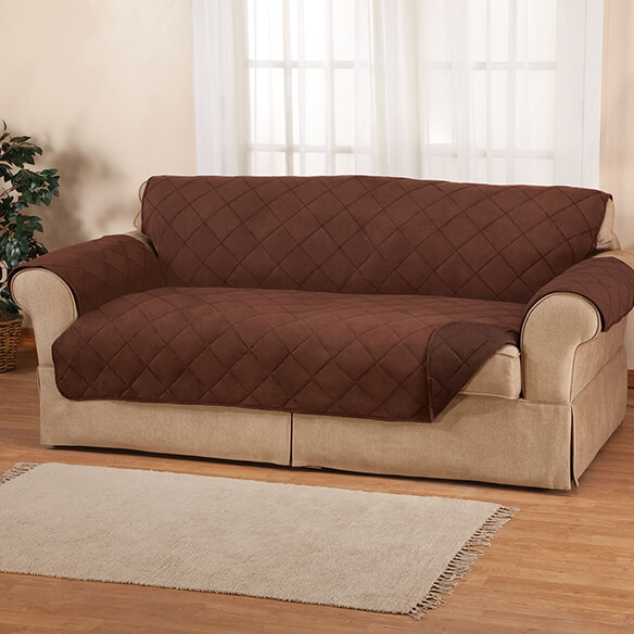 Naomi Suede-Microfiber Sofa Cover by OakRidge™ - View 2